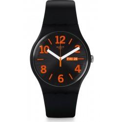 Swatch Unisexuhr New Gent Orangio SUOB723