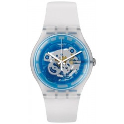 Swatch Unisexuhr New Gent Blumazing SUOK129
