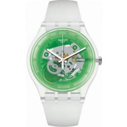 Swatch Unisexuhr New Gent Greenmazing SUOK131