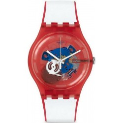 Swatch Unisexuhr New Gent Clownfish Red SUOR102