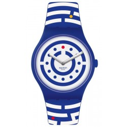Swatch Club Unisexuhr New Gent Follow The Dots SUOZ279