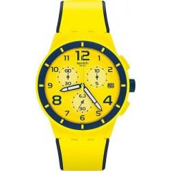 Swatch Unisexuhr Chrono Plastic Solleore SUSJ401 Chronograph