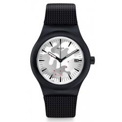 Swatch Herrenuhr Sistem51 Sistem Kamu SUTB407 Automatik