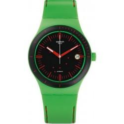 Kaufen Sie Swatch Unisexuhr Sistem51 Sistem Frog SUTG401 Automatik