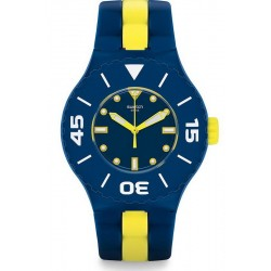 Swatch Herrenuhr Scuba Libre Long Waves SUUN102