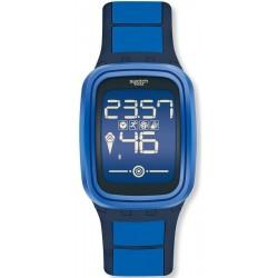 Swatch Unisexuhr Digital Touch Zero One Subzero SUVN101