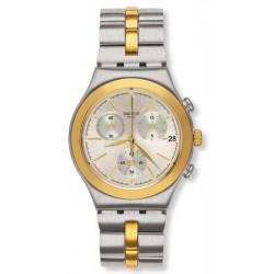Swatch Unisexuhr Irony Chrono Glamaster YCS592G Chronograph