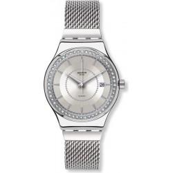 Kaufen Sie Swatch Damenuhr Irony Sistem51 Sistem Stalac YIS406G Automatik