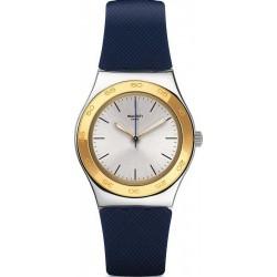 Kaufen Sie Swatch Damenuhr Irony Medium Blue Push YLS191