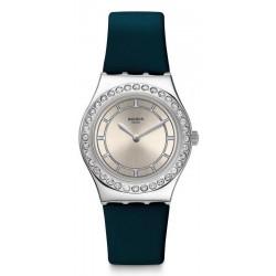 Kaufen Sie Swatch Damenuhr Irony Medium Bluechic YLS211