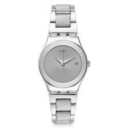 Swatch Damenuhr Irony Medium Classy Silver YLS466G