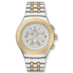 Swatch Unisexuhr Irony Chrono Live My Time YOS458G Chronograph