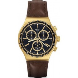 Swatch Herrenuhr Irony Chrono V'Dome YVG401 Chronograph