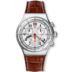 Swatch Herrenuhr Irony Chrono Back To The Roots YVS414 Chronograph