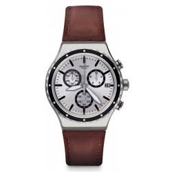 Swatch Herrenuhr Irony Chrono Grandino YVS437 Chronograph