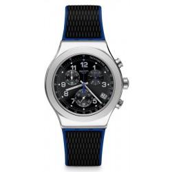 Swatch Herrenuhr Irony Chrono Secret Mission YVS451 Chronograph