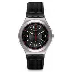 Swatch Herrenuhr Irony Big Classic Black Grid YWS444