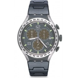 Swatch Herrenuhr Irony Xlite Shark Attack YYS4027AG Chronograph