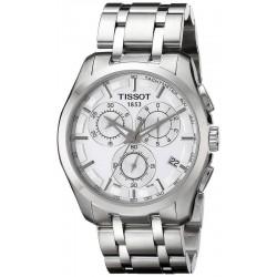 Tissot Herrenuhr T-Classic Couturier Chronograph T0356171103100