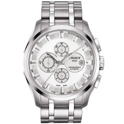 Tissot Herrenuhr Couturier Automatic Chronograph T0356271103100