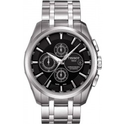 Tissot Herrenuhr Couturier Automatic Chronograph T0356271105100