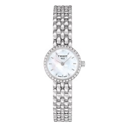 Tissot Damenuhr T-Lady Lovely T0580096111600 Diamanten Perlmutt