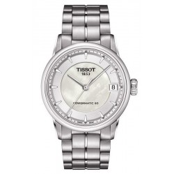 Kaufen Sie Tissot Damenuhr Luxury Powermatic 80 T0862071111100 Perlmutt