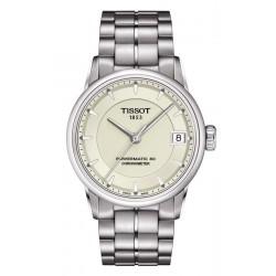 Tissot Damenuhr T-Classic Luxury Powermatic 80 COSC T0862081126100