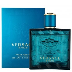 Versace Eros Herrenparfüm Eau de Toilette EDT Vapo 100 ml
